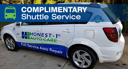 Complimentary Local Shuttle Service | Honest-1 Auto Care Owatonna
